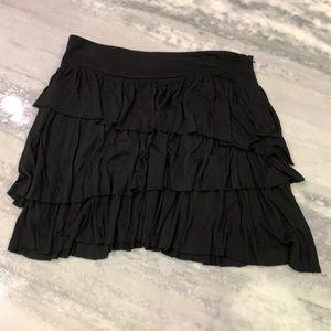 Banana Republic   Black Asymmetrical Skirt sz:6